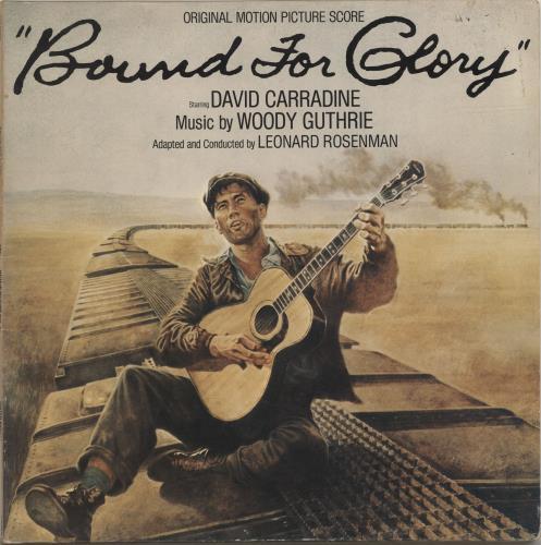 Woody Guthrie Bound For Glory Uk Vinyl Lp Album Lp Record