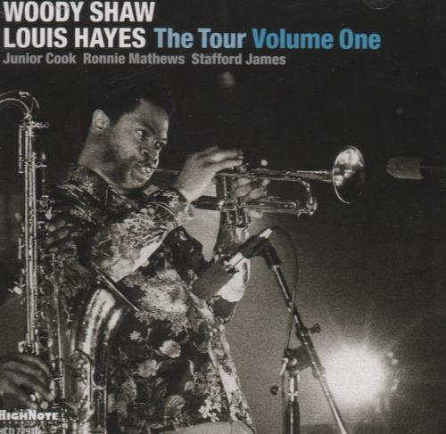 Woody Shaw The Tour Volume One CD album (CDLP) US WOYCDTH670618