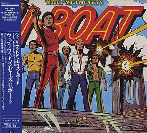 Woody Woodmansey's U-Boat Woody Woodmansey's U-Boat CD album (CDLP) Japanese WWECDWO363342