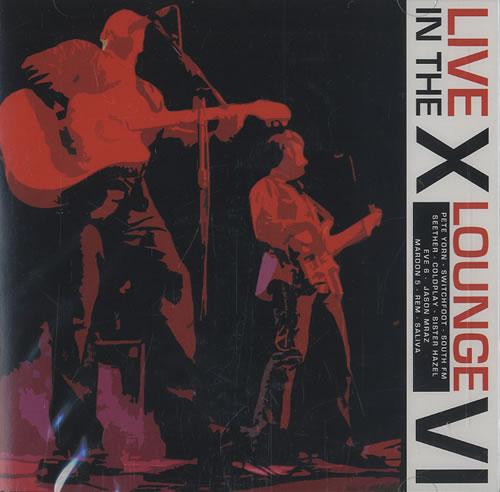 WRAX Live In The X-Lounge VI CD album (CDLP) US WR0CDLI453316