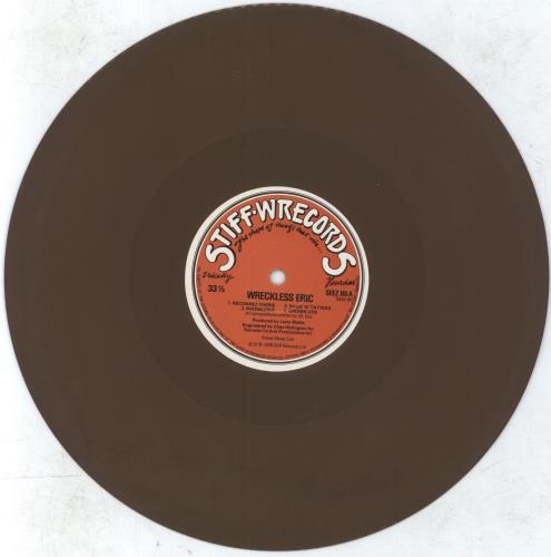 Wreckless Eric Wreckless Eric Brown Vinyl Uk 10 Quot Vinyl
