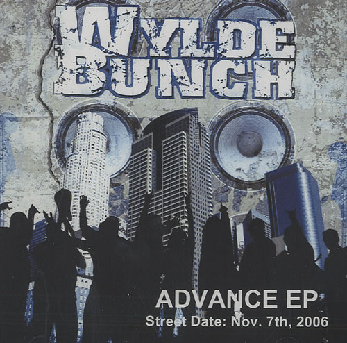 Wylde Bunch Advance EP CD-R acetate US WYBCRAD436817