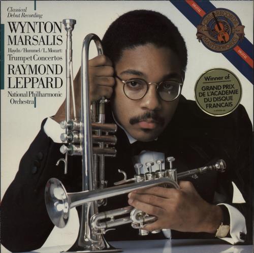 Wynton Marsalis Trumpet Concertos vinyl LP album (LP record) Dutch WM2LPTR615778