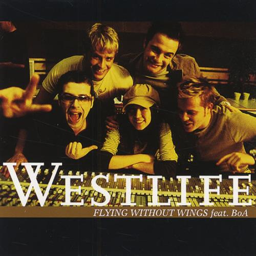 """Westlife Flying Without Wings CD single (CD5 / 5"""") Japanese WLIC5FL255411"""