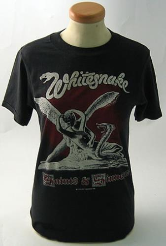 Whitesnake Saints And Sinners Uk T Shirt 380935