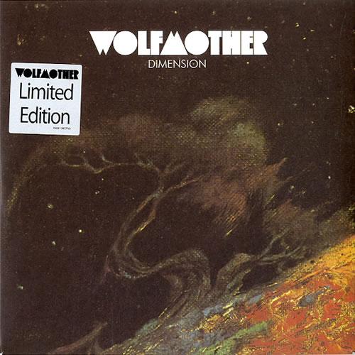 "Wolfmother Dimension 7"" vinyl single (7 inch record) UK WLO07DI355723"
