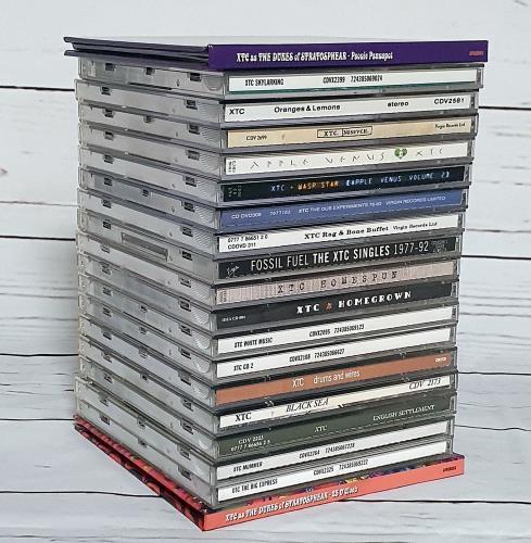 XTC 1978-2000 Studio Albums CD album (CDLP) UK XTCCDST748662