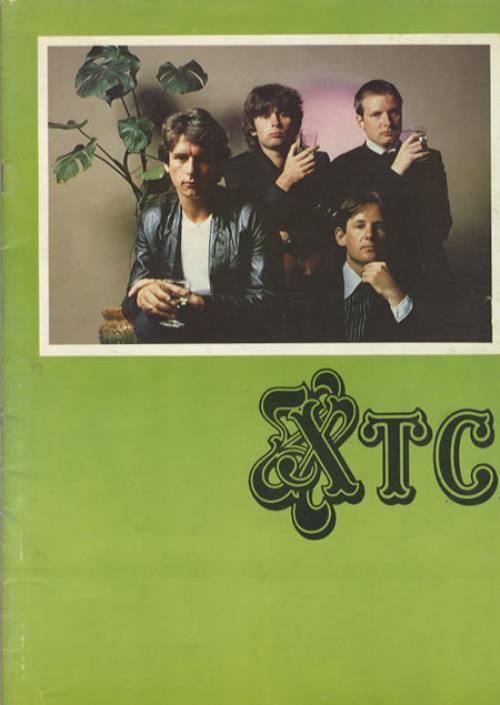 XTC 1980 Tour tour programme US XTCTRTO344599