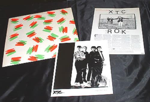 "XTC 3D EP + Press Pack 12"" vinyl single (12 inch record / Maxi-single) UK XTC12DE304045"