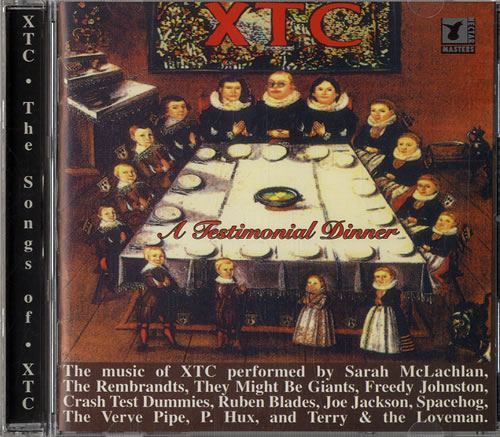 XTC A Testimonial Dinner CD album (CDLP) UK XTCCDAT561563