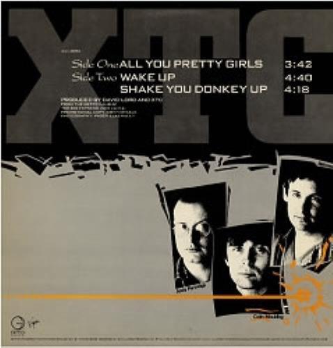 "XTC All You Pretty Girls 12"" vinyl single (12 inch record / Maxi-single) US XTC12AL47034"