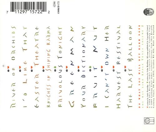 XTC Apple Venus CD album (CDLP) UK XTCCDAP561560