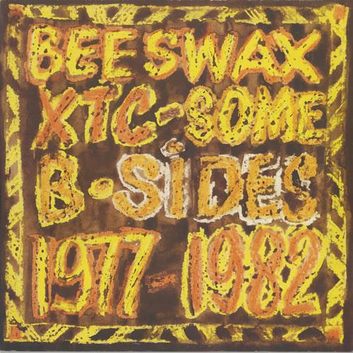 XTC Beeswax Some B-Sides 1977-1982 vinyl LP album (LP record) UK XTCLPBE454983