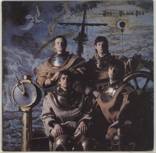XTC Black Sea + Lyric Insert - EX vinyl LP album (LP record) UK XTCLPBL697561