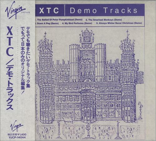 "XTC Demo Tracks CD single (CD5 / 5"") Japanese XTCC5DE197301"