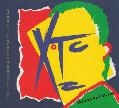 XTC Drums And Wires - The Surround Sound Series + Postcard 2-disc CD/DVD set UK XTC2DDR712665