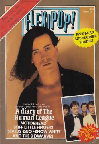 XTC Flexipop! Magazine Issue 16 + Red Flexi magazine UK XTCMAFL172841