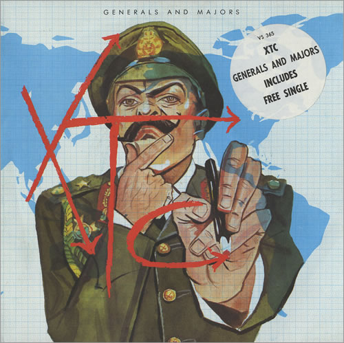 """XTC Generals And Majors - Double Pack - Stickered 7"""" vinyl single (7 inch record) UK XTC07GE28269"""