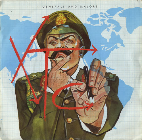 "XTC Generals And Majors - P/S 7"" vinyl single (7 inch record) UK XTC07GE599799"