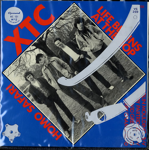 "XTC Life Begins At The Hop - Clear Vinyl 7"" vinyl single (7 inch record) UK XTC07LI68968"