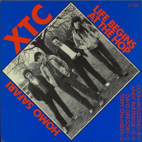 "XTC Life Begins At The Hop - Clear Vinyl 7"" vinyl single (7 inch record) UK XTC07LI771279"