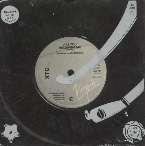 "XTC Life Begins At The Hop 7"" vinyl single (7 inch record) UK XTC07LI108863"