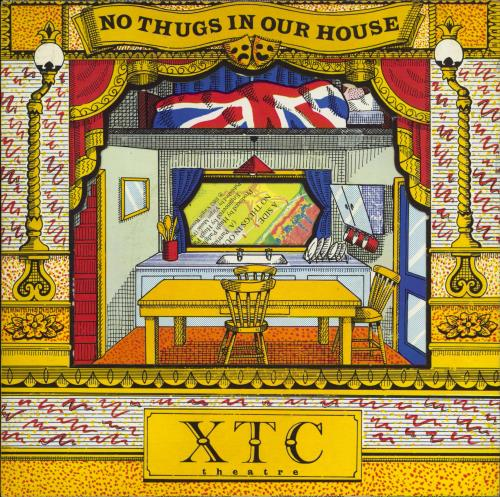 "XTC No Thugs In Our House - Theatre Pack 7"" vinyl single (7 inch record) UK XTC07NO42490"