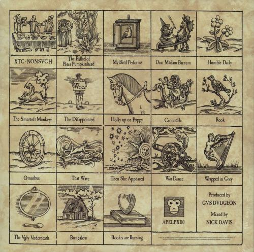 XTC Nonsuch - 200 Gram Remastered - Sealed 2-LP vinyl record set (Double Album) UK XTC2LNO753909