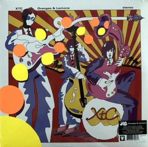 XTC Oranges & Lemons - 200gm - Sealed 2-LP vinyl record set (Double Album) UK XTC2LOR751917