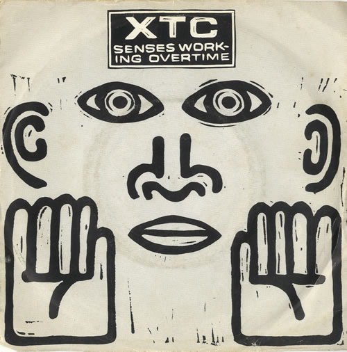 "XTC Senses Working Overtime 7"" vinyl single (7 inch record) UK XTC07SE16961"