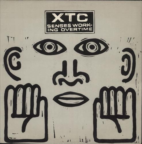 "XTC Senses Working Overtime 12"" vinyl single (12 inch record / Maxi-single) UK XTC12SE661278"