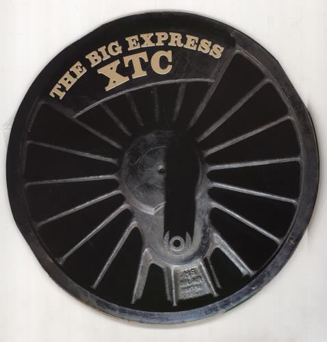 XTC The Big Express - Circular Sleeve - EX vinyl LP album (LP record) UK XTCLPTH721924