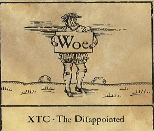 "XTC The Disappointed - Digipak CD single (CD5 / 5"") UK XTCC5TH11549"