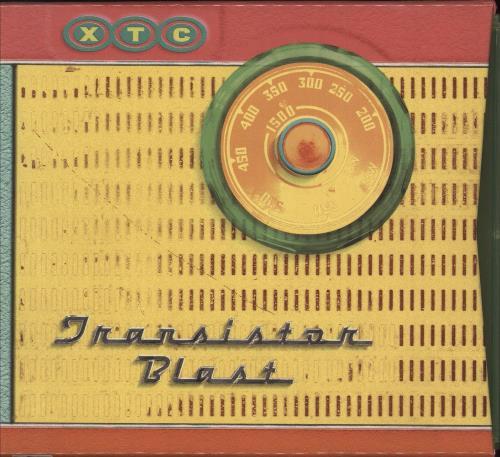 XTC Transistor Blast 4-CD album set UK XTC4CTR179349