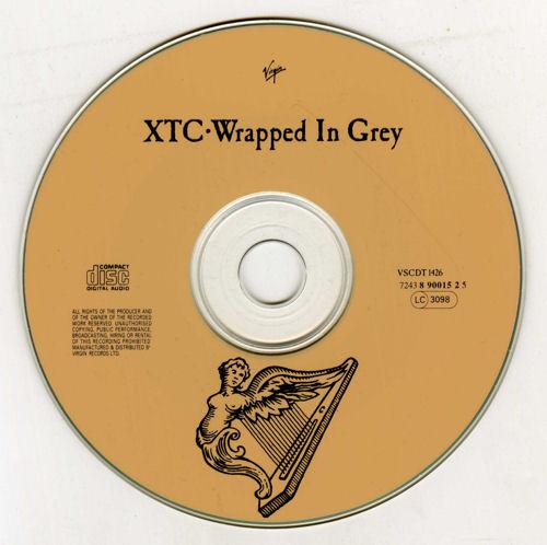 "XTC Wrapped In Grey - Withdrawn CD single (CD5 / 5"") UK XTCC5WR17303"
