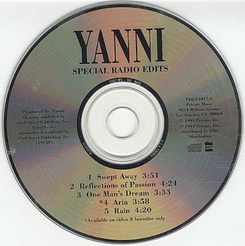 cds yanni