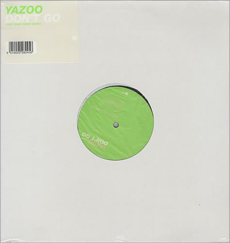 "Yazoo Don't Go - 1999 Todd Terry Mixes (barcoded) 12"" vinyl single (12 inch record / Maxi-single) UK YAZ12DO143830"