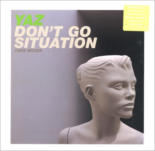 "Yazoo Don't Go 12"" vinyl single (12 inch record / Maxi-single) US YAZ12DO148573"