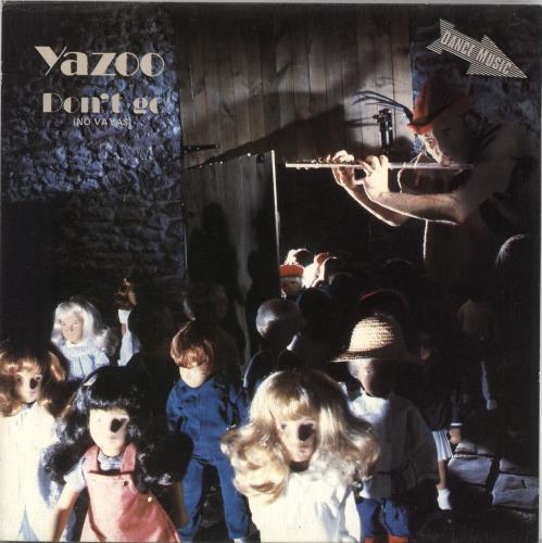 """Yazoo No Vayas 7"""" vinyl single (7 inch record) Spanish YAZ07DO206501"""