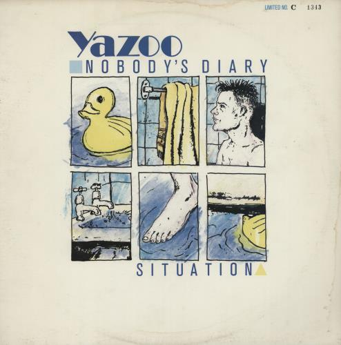 "Yazoo Nobody's Diary - Numbered 12"" vinyl single (12 inch record / Maxi-single) UK YAZ12NO10435"