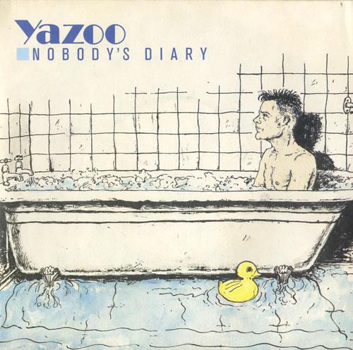 "Yazoo Nobody's Diary 7"" vinyl single (7 inch record) UK YAZ07NO103174"