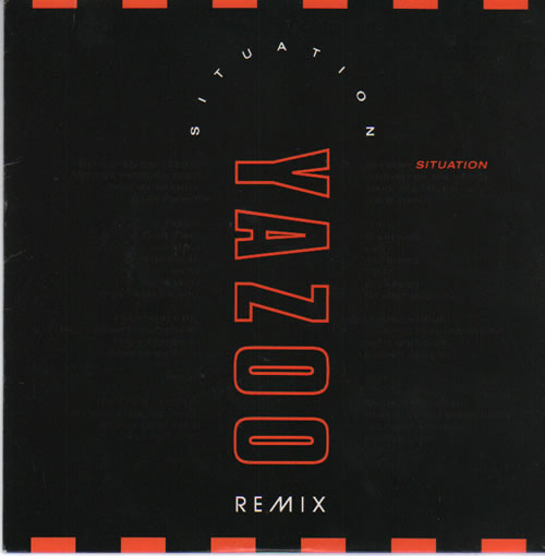 "Yazoo Situation Remix 7"" vinyl single (7 inch record) UK YAZ07SI67272"