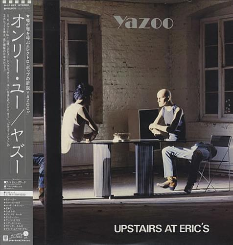 Yazoo Upstairs At Eric's vinyl LP album (LP record) Japanese YAZLPUP166738