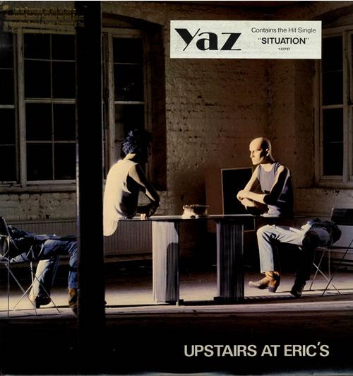 Yazoo Upstairs At Eric's vinyl LP album (LP record) US YAZLPUP550386