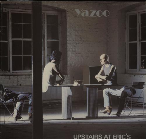 Yazoo Upstairs At Erics vinyl LP album (LP record) Australian YAZLPUP671026