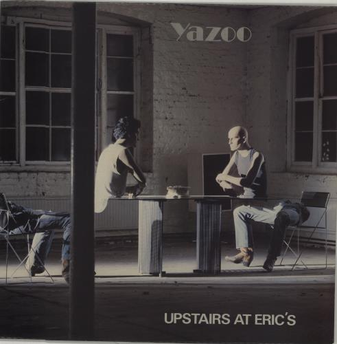 Yazoo Upstairs At Erics vinyl LP album (LP record) UK YAZLPUP92738