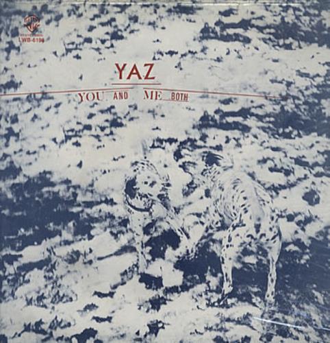 Yazoo You And Me Both vinyl LP album (LP record) Mexican YAZLPYO316315