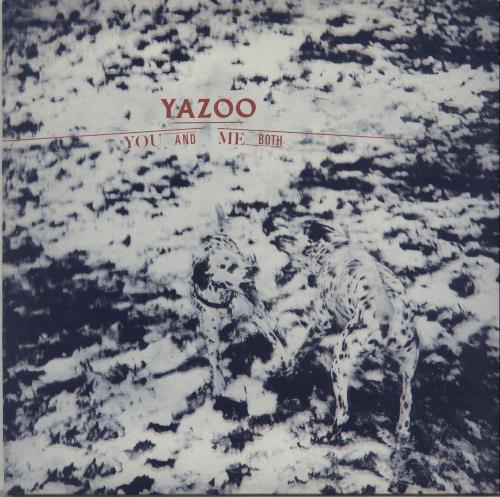Yazoo You And Me Both vinyl LP album (LP record) Australian YAZLPYO670945