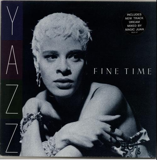 "Yazz Fine Time 12"" vinyl single (12 inch record / Maxi-single) UK YZZ12FI180491"