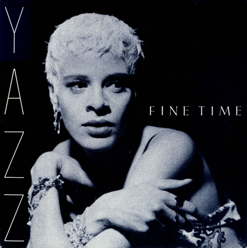 "Yazz Fine Time 7"" vinyl single (7 inch record) UK YZZ07FI578663"